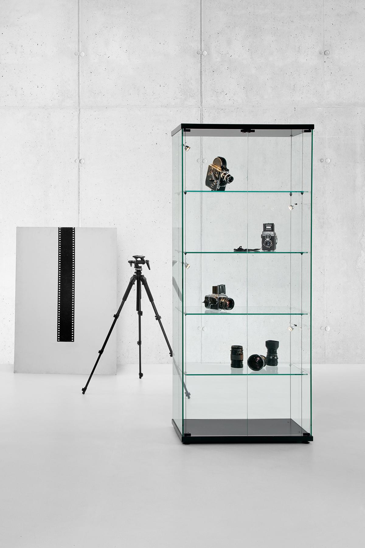 jutzi 39 s schrankladen ag glas vitrinen. Black Bedroom Furniture Sets. Home Design Ideas